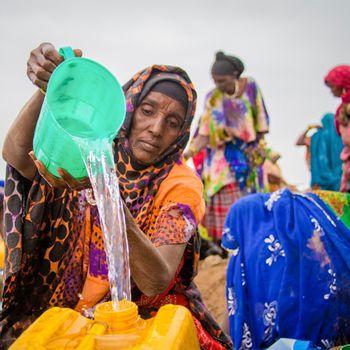 Glückskette – Klimakatastrophe Afrika