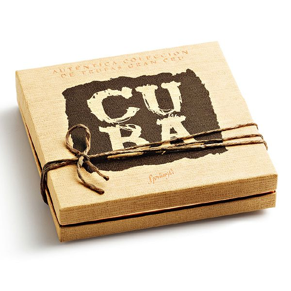 Sprüngli Cuba Truffes 16 St. Bild