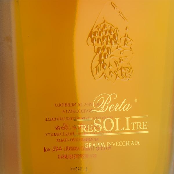 Grappa Tre Soli Tre - Distilleria Berta (Piemont)Image