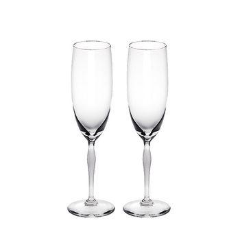 Lalique 100 POINTS Champagnerflute 2er Set
