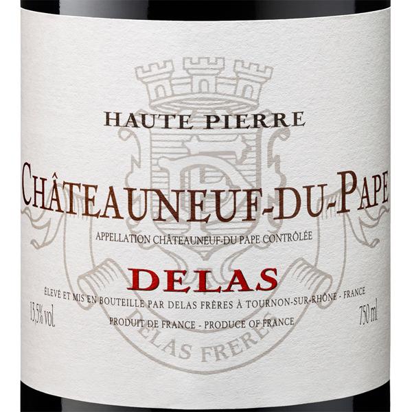 Delas Frères Châteauneuf-du-Pape 2015 - rotBild