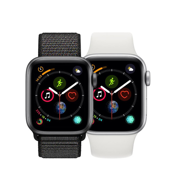 Apple Watch Series 4 GPS in Aluminum 40mm Image