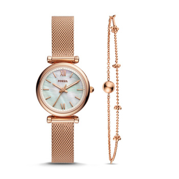 Fossil CARLIE Ladies Watch with Bracelet