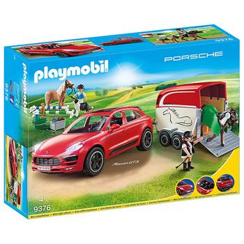 Playmobil® Porsche Macan GTS mit Pferdeanhänger