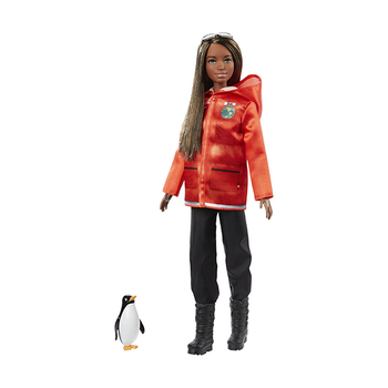 Barbie Puppe − Polar- und Meeresbiologin