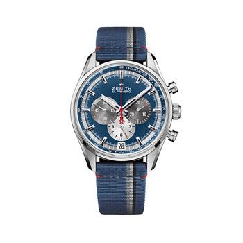 Zenith EL PRIMERO Herren-Chronograph − Blau