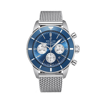Breitling SUPEROCEAN Heritage B01 Herren-Chronograph - Blau