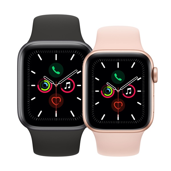 Apple Watch Series 5 GPS in Aluminium Bild