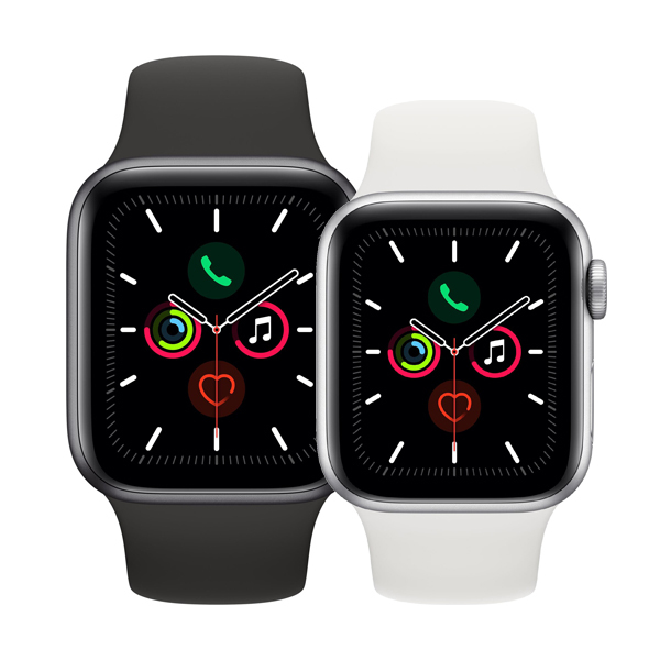 Apple Watch Series 5 GPS+Cellular in Aluminium Bild