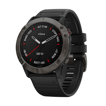 Garmin fēnix® 6X Pro Sapphire GPS-Multisport-Smartwatch − 51mm