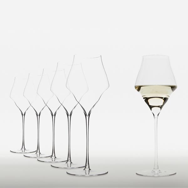 Josephinenhütte No.4 Champagnergläser – mundgeblasenImmagine