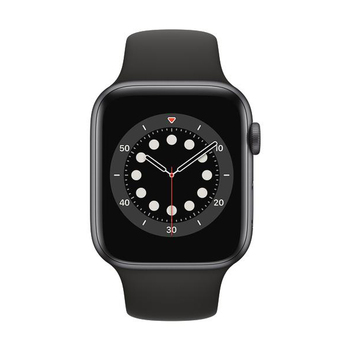 Apple Watch Series 6 GPS Aluminium – 44mm, Sportarmband