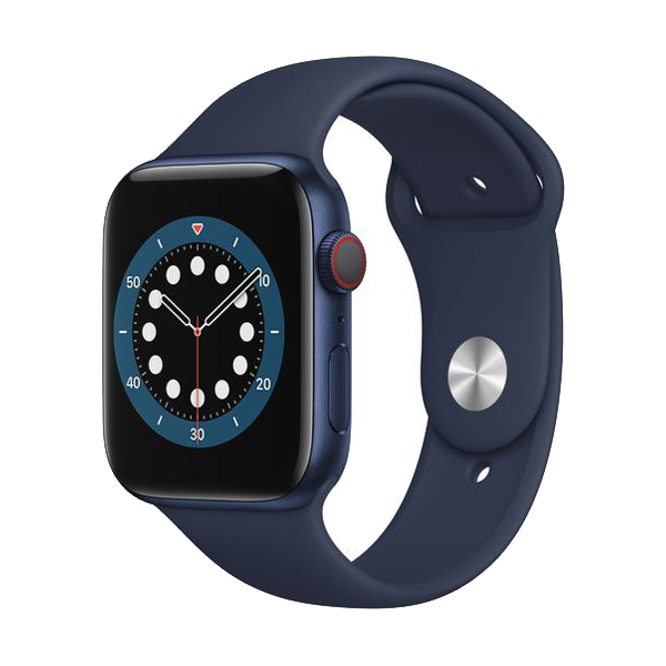 Apple Watch Series 6 GPS+Cellular Aluminium – 44mm, SportarmbandImmagine